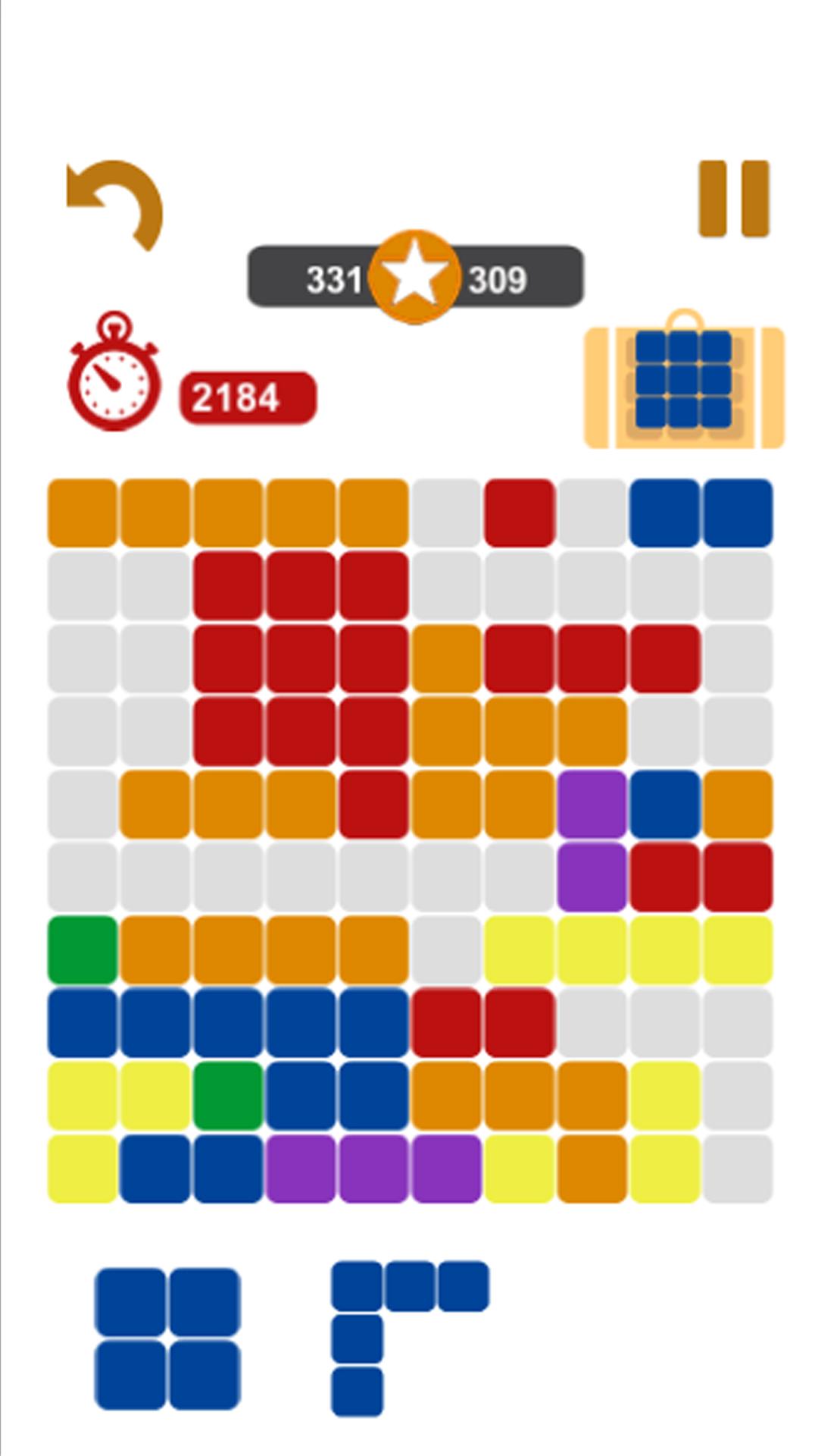 10/10 Ultimate Blocks Puzzle !
