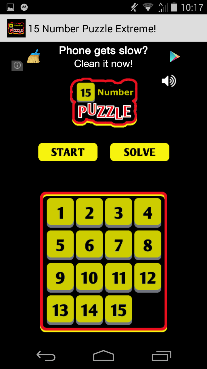 15 Number Puzzle Extreme!