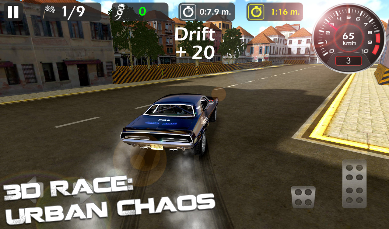 3d Race : Urban Chaos