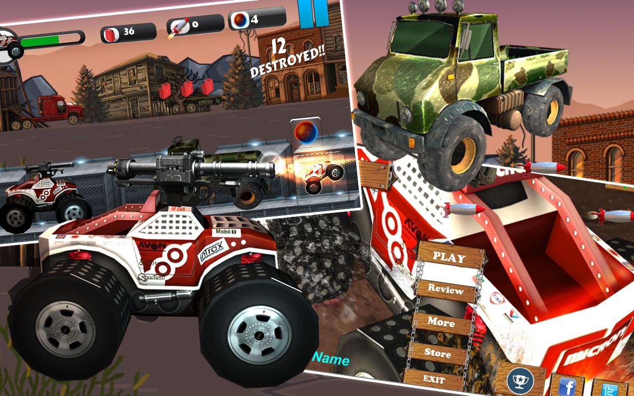 4×4 Off Road Diesel StormTruck