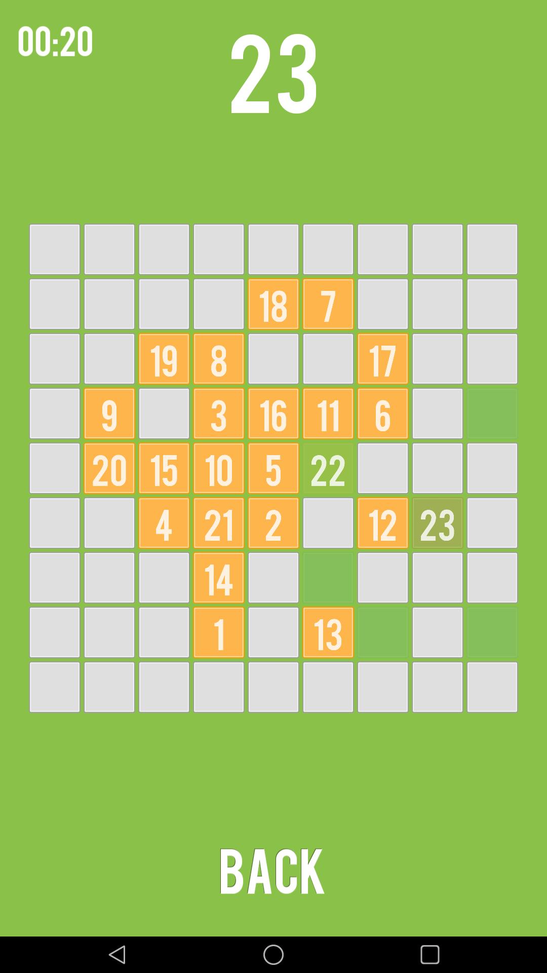 81 squares