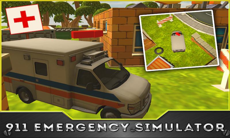 911 Ambulance Simulator 3D