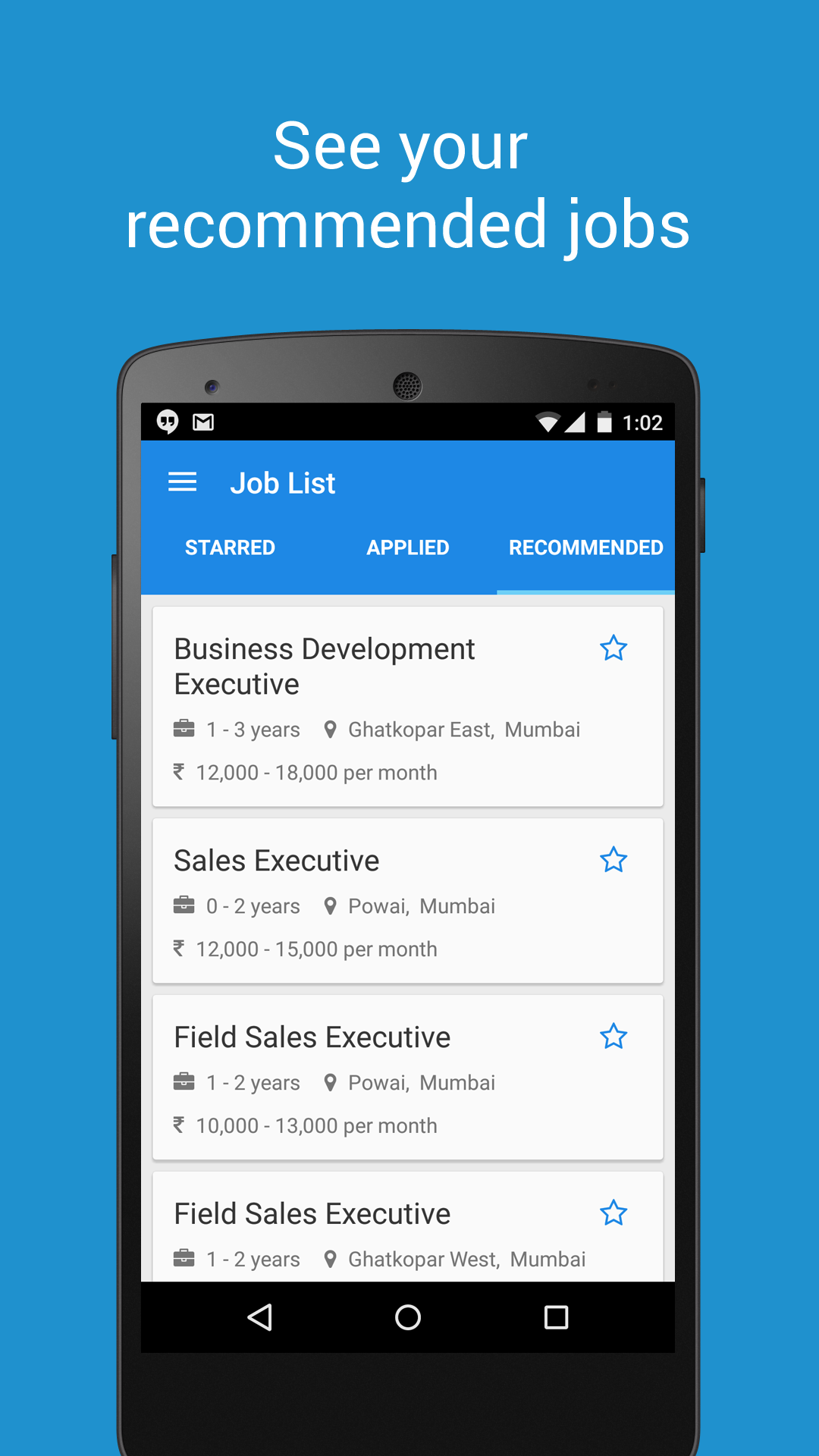 Aasaanjobs Job Search