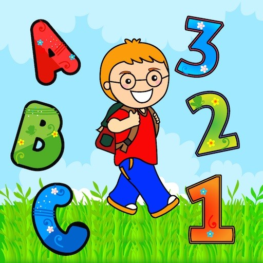 Abby Boy Learning English and Maths