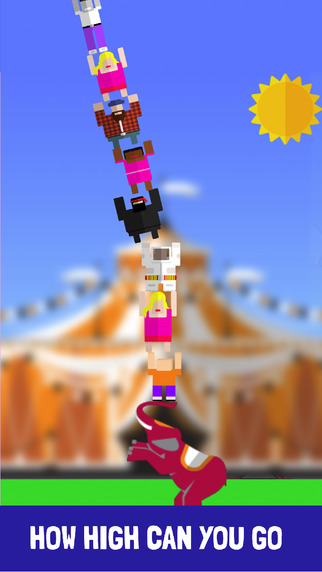 Acrobats Stacker Game