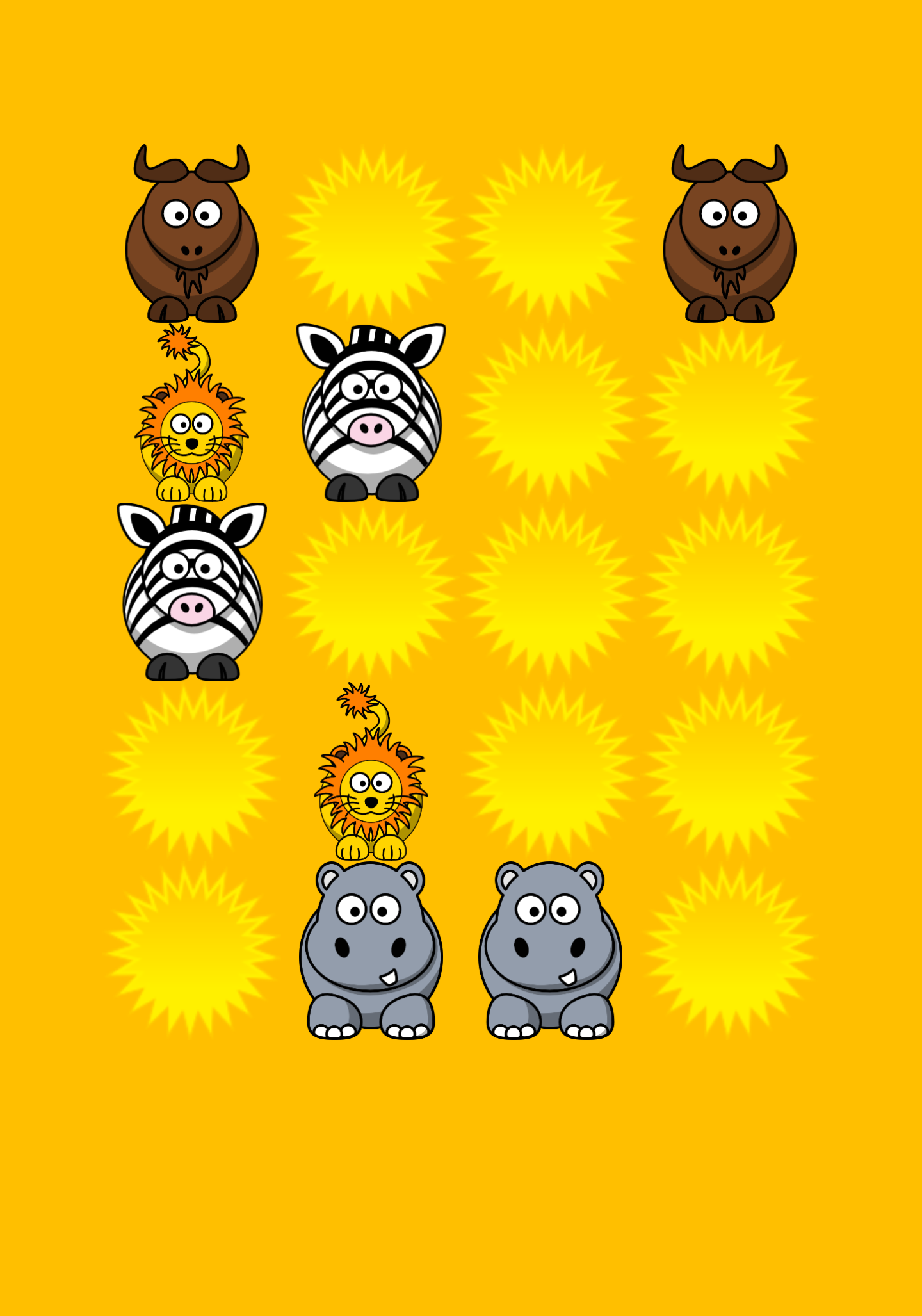 African Animal Games for Kids