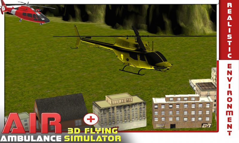 Air Ambulance Flying Simulator