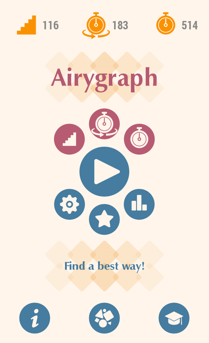 Airygraph – Find a best way!