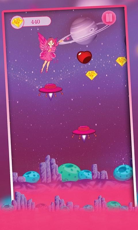 Alien Super girl Pink princess