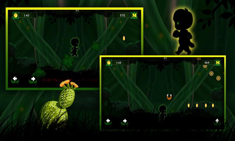 Alien walk on Green Wonderland