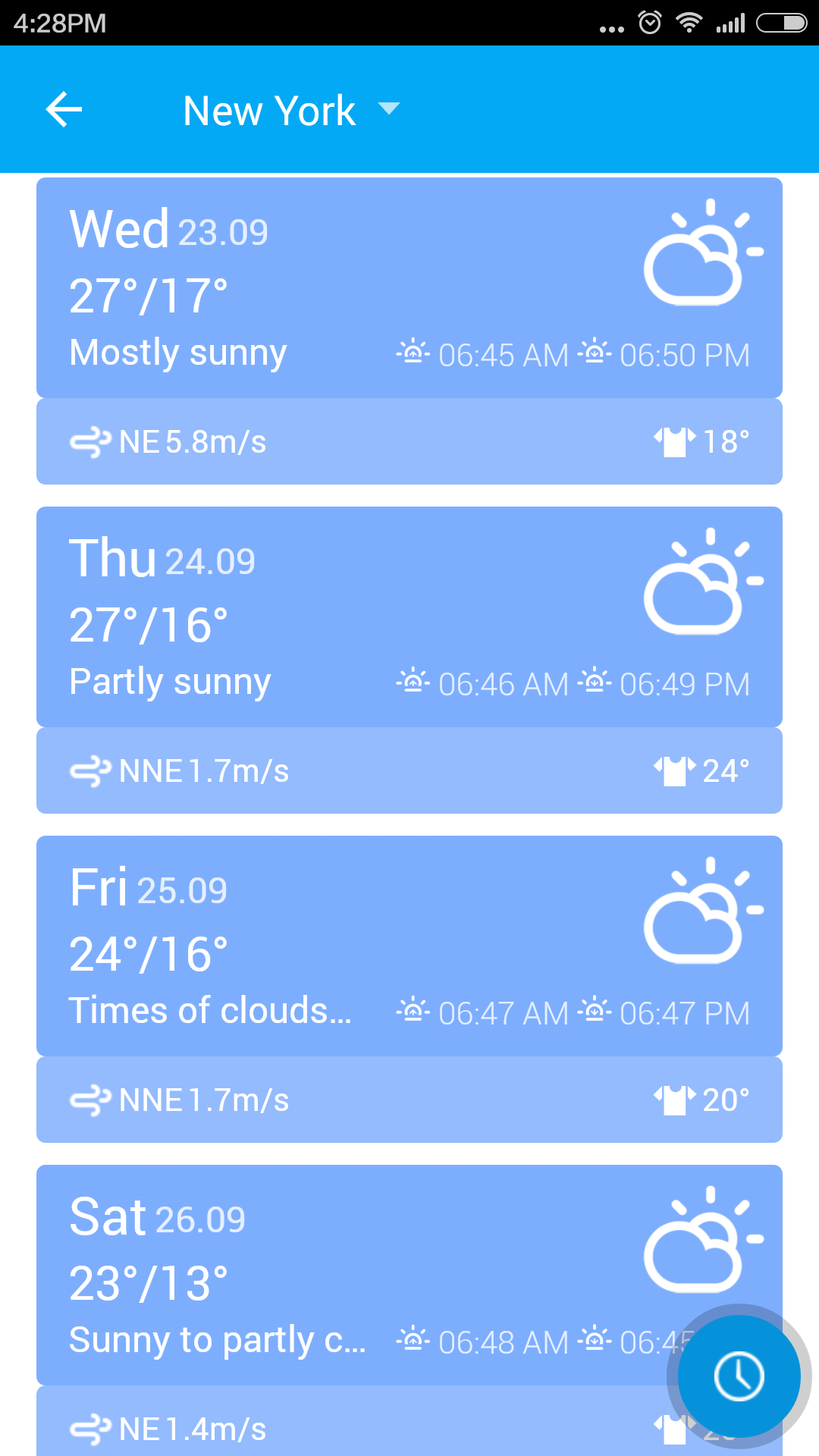 Amber Weather Widget&Forecast