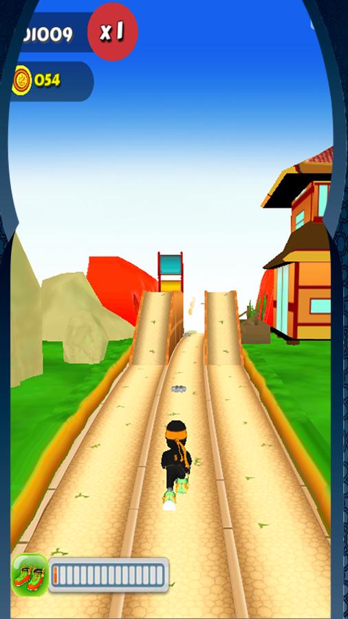 Angry Boy Run 3D