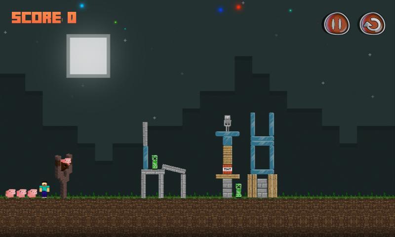 Angry Herobrine – MineCraft