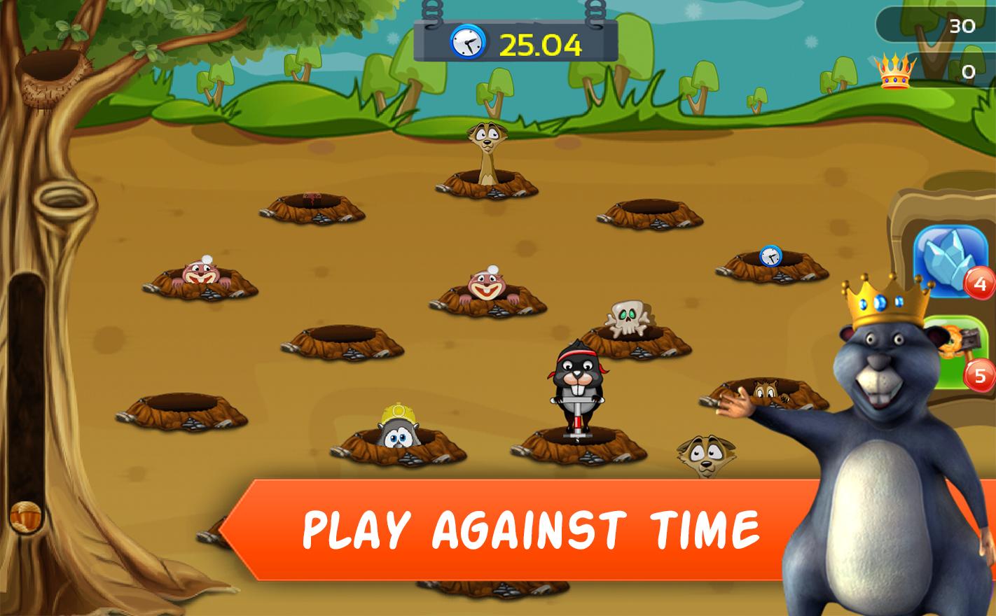Angry Moles