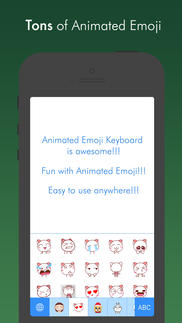 Animated Icons – Best animated GIF sticker keyboard