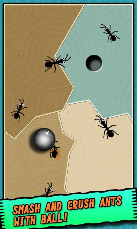 Ant vs Ball