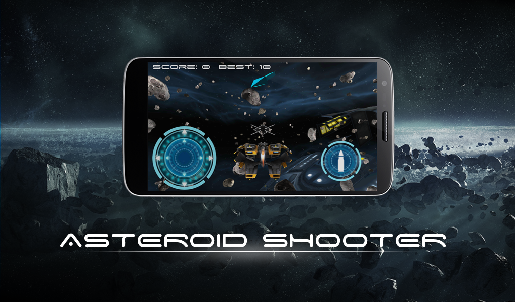 Asteroid Shooter Simulator