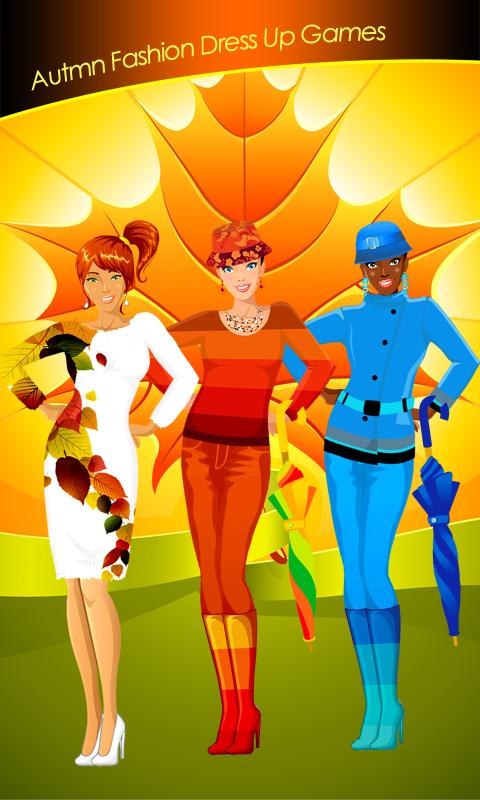 Autumn Fashion Dress Up Games