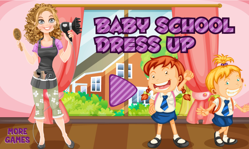 Baby School Dress Up Salon