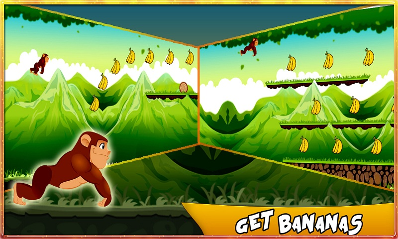 Bananas Island : Monkey Run