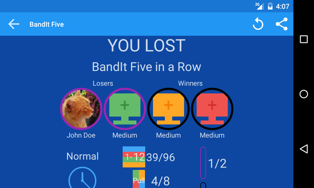 BandIt Five in a Row