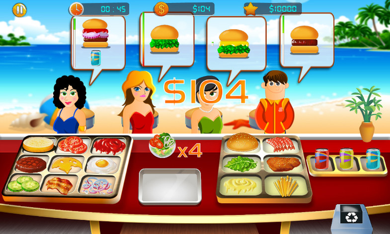 Beach Burger Restaurant