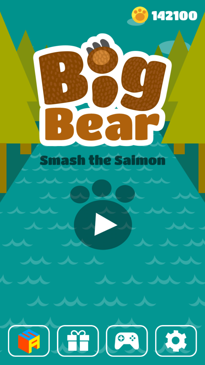 Big Bear:Smash the Salmon