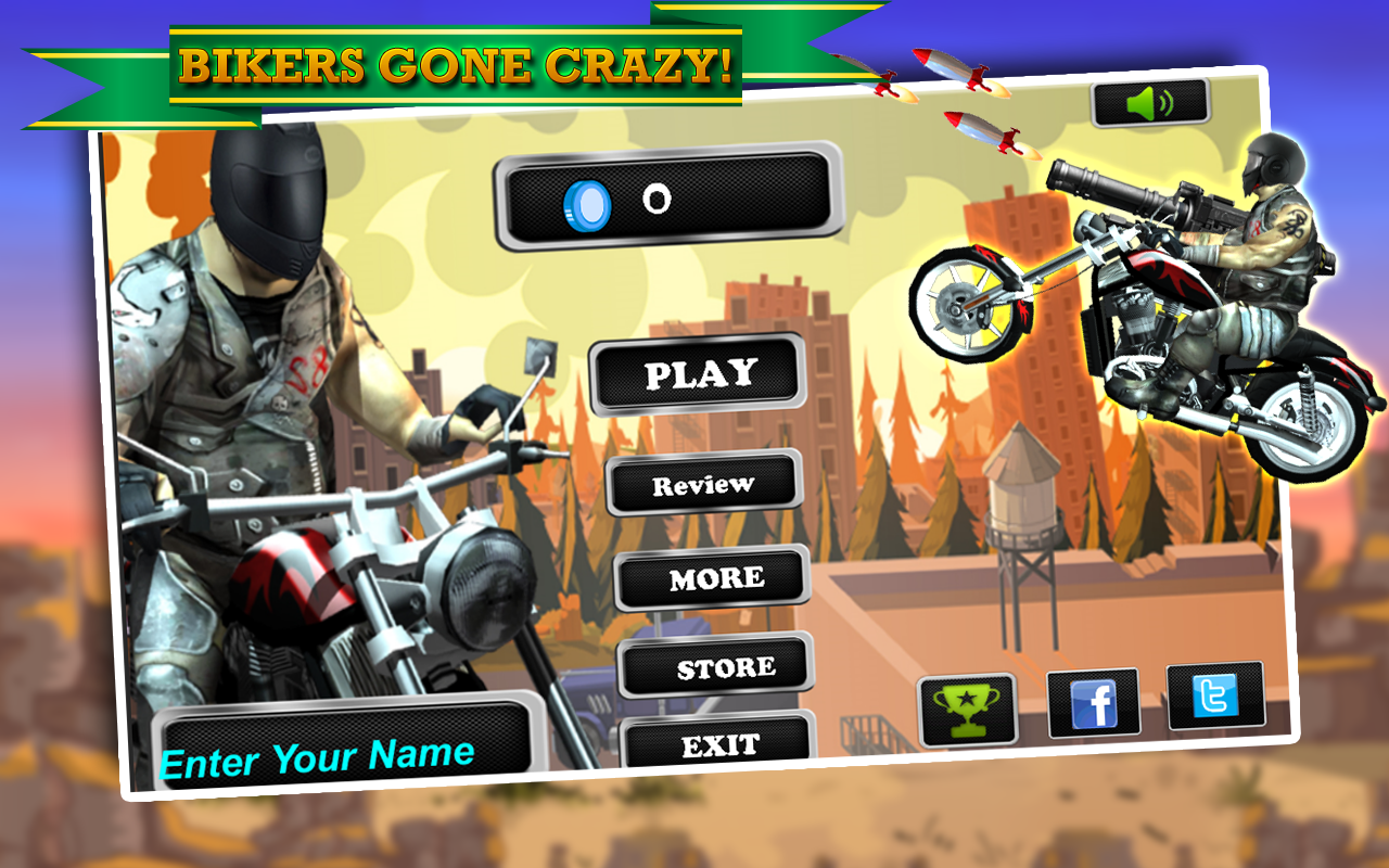 Biker Ninja : Quick Gun Escape