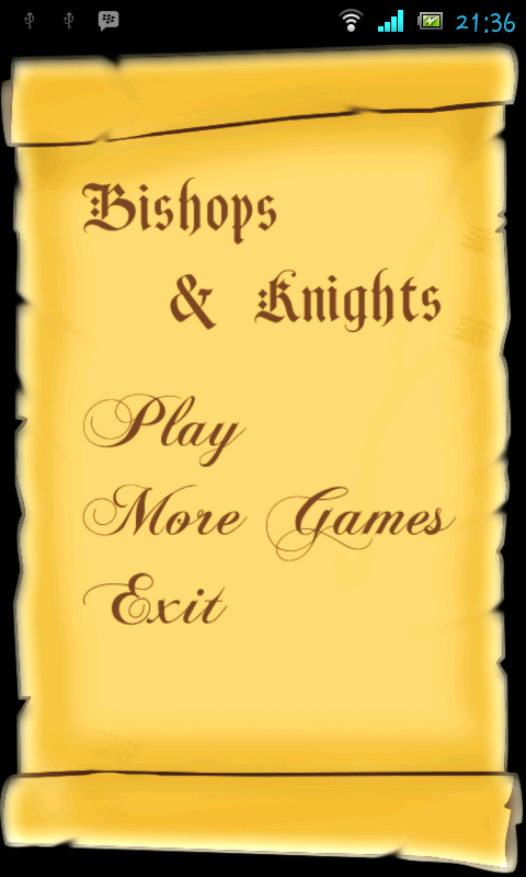 Bishops and Knights
