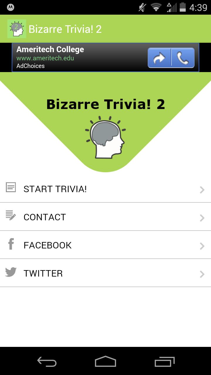 Bizarre Trivia! 2
