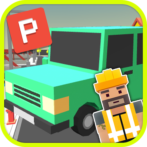 Blocky Car Parking Simulator