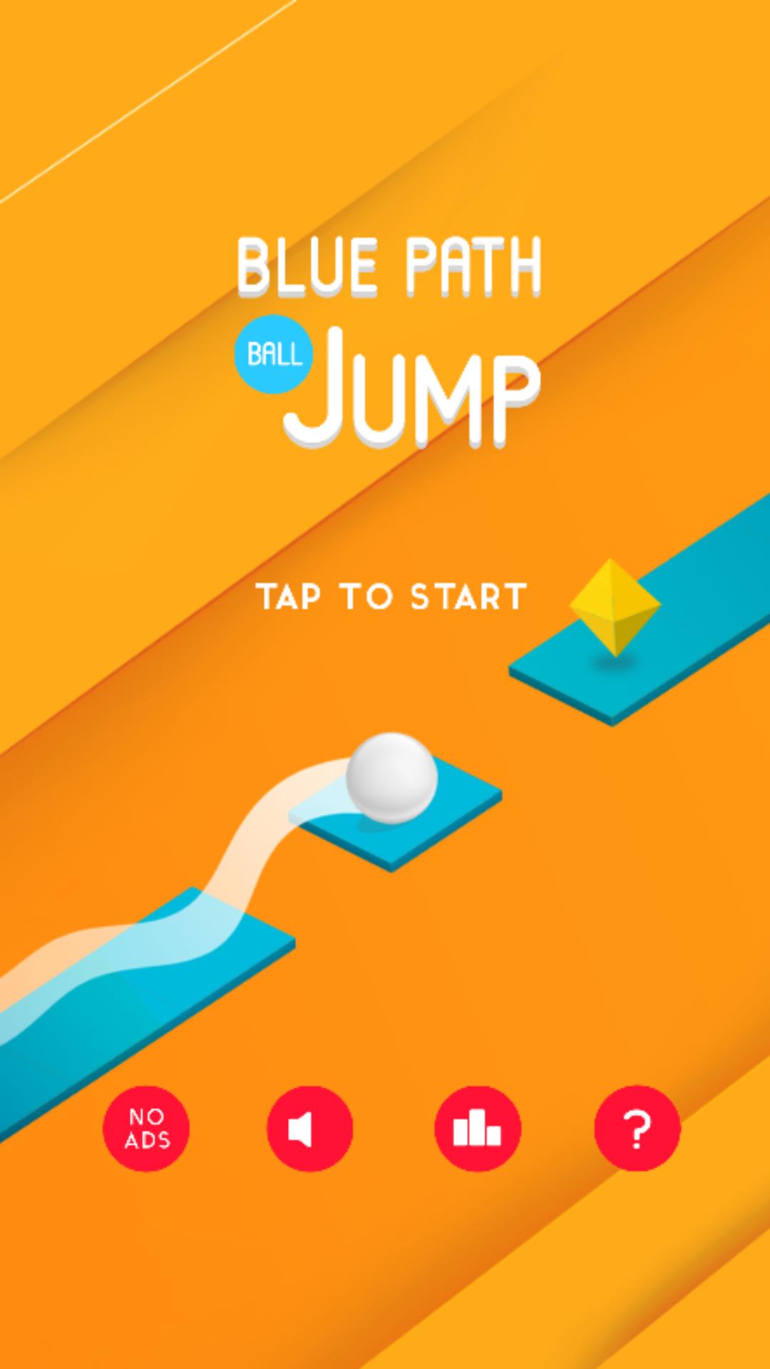 Blue Path Ball Jump