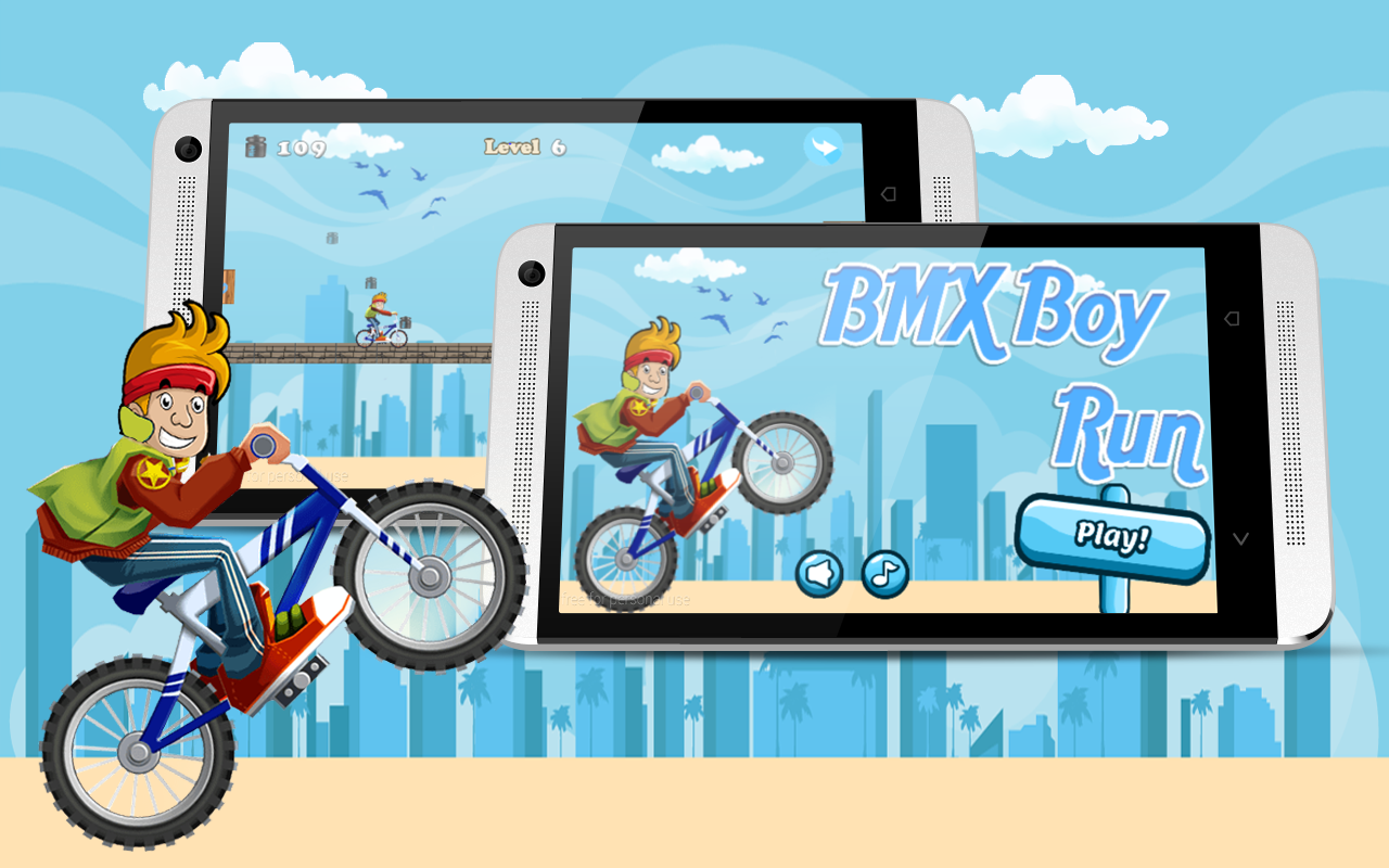 BMX Boy Run