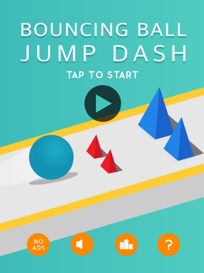 Bouncing Ball Jump Dash