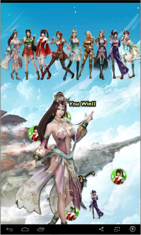 Bubble Girls Warrior