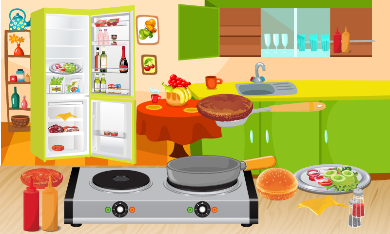Burger Maker – Crazy Cooking