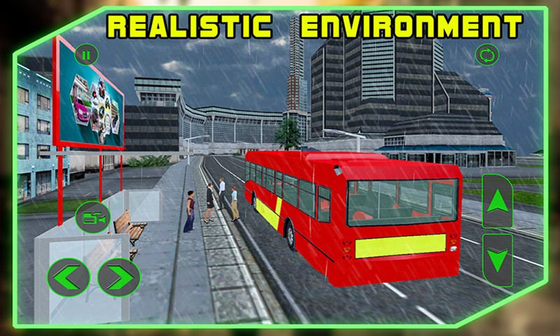 Bus Driving : City Simulator