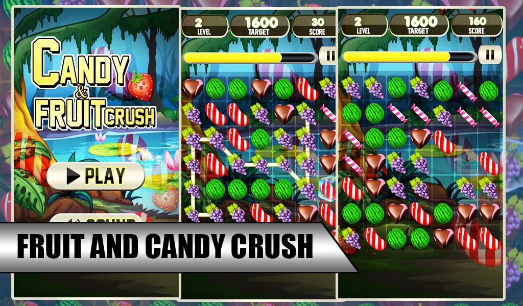 Candy & Fruit Crush Splash