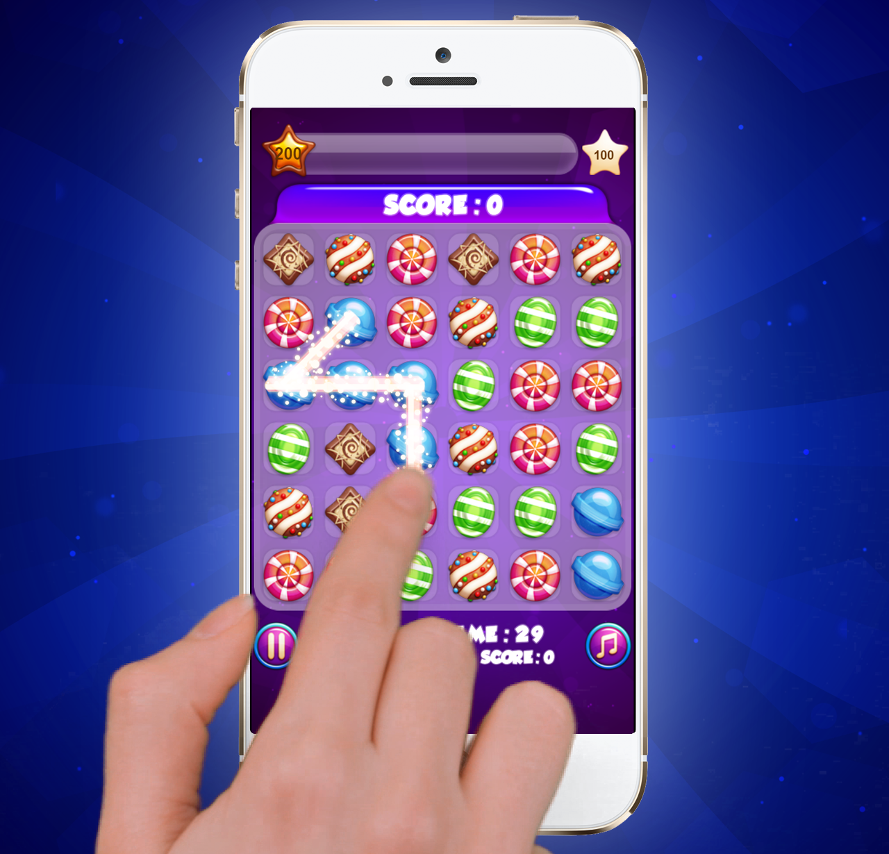 Candy Blast Madness – Puzzle Game With Various Candy Themes