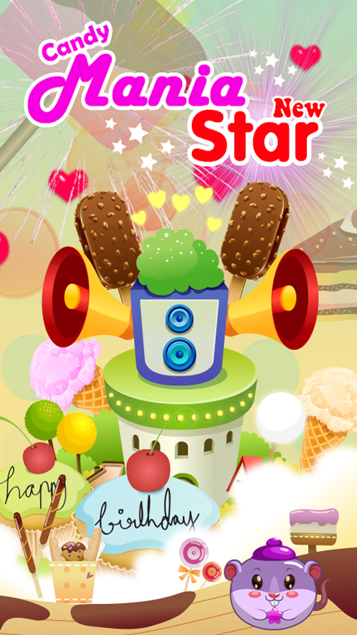 Candy Mania New Star