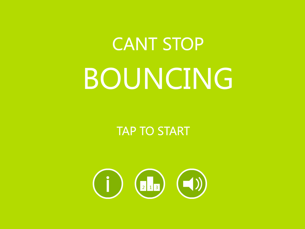 Cant Stop Bouncing