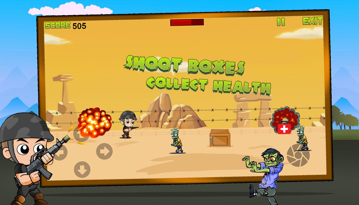 Captain War :  Zombie Killer