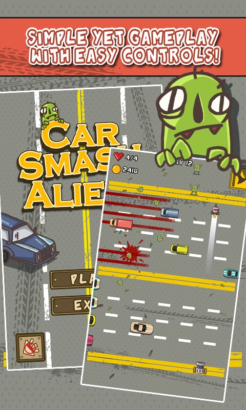 Car Smash Aliens