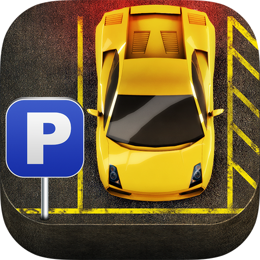 Cartoon Super Car Parking 3D
