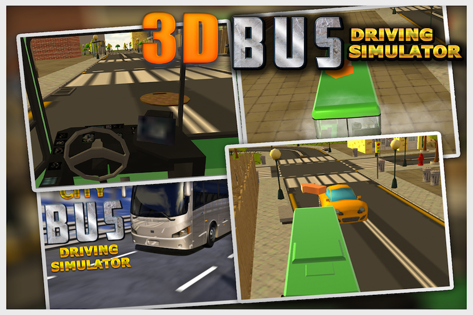 City Bus Driving Simulator 3D