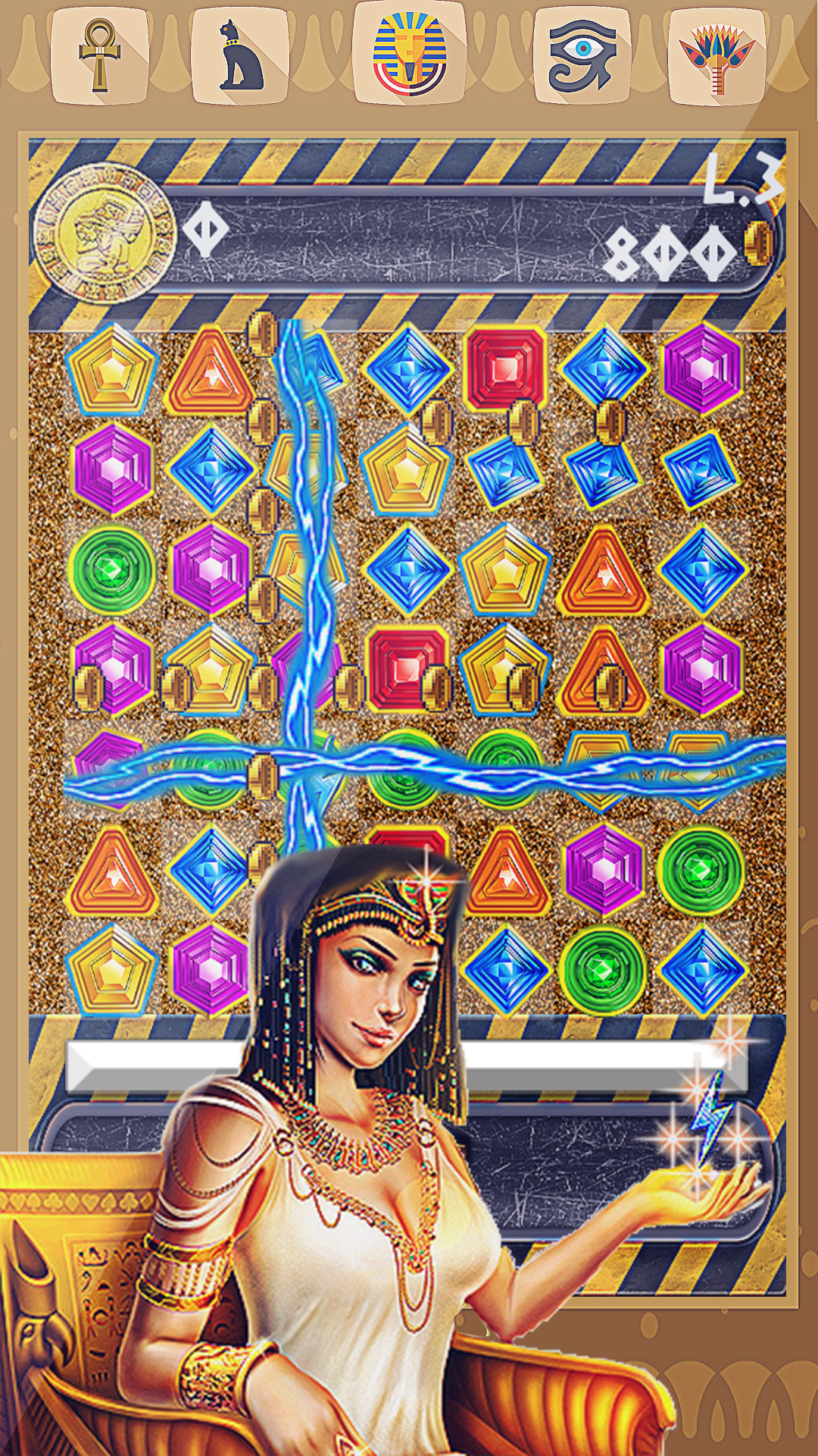 Cleopatra's Jewels Quest Saga