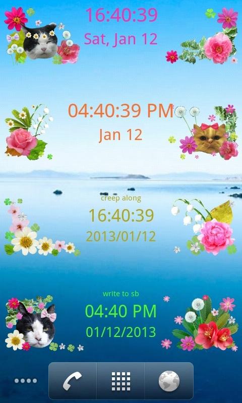 Clock + English