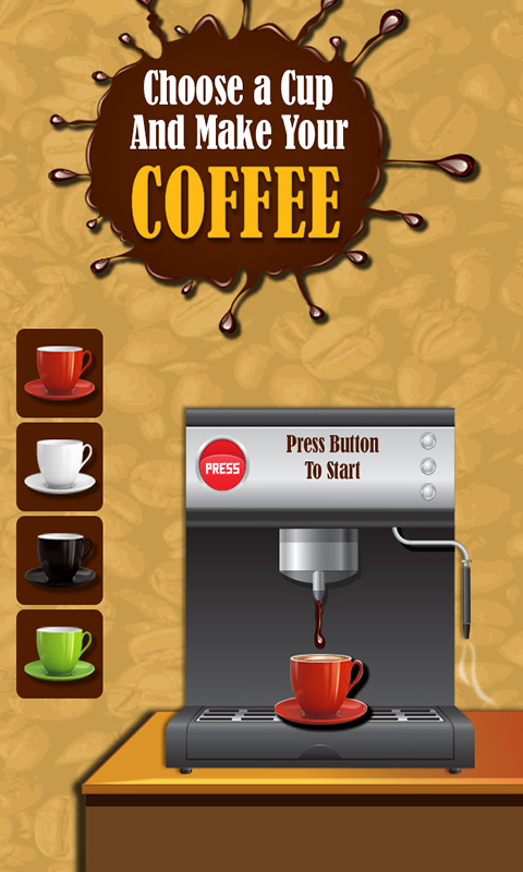 Coffee Maker – Cooking Game