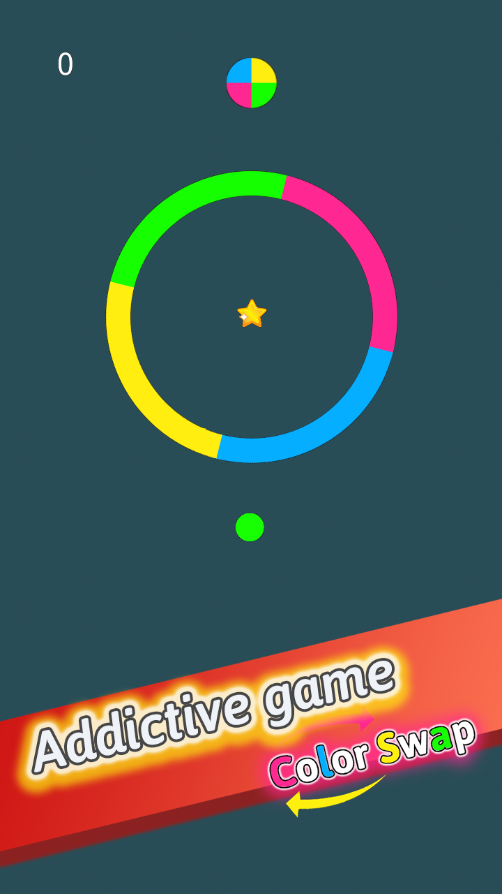 Color Swap – Jumping Ball