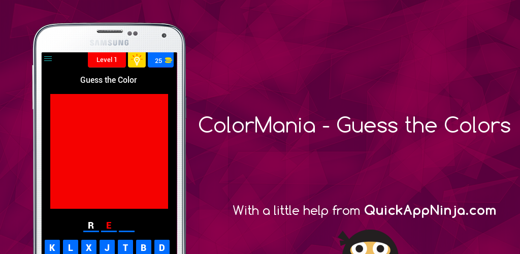ColorMania – Guess the Colors